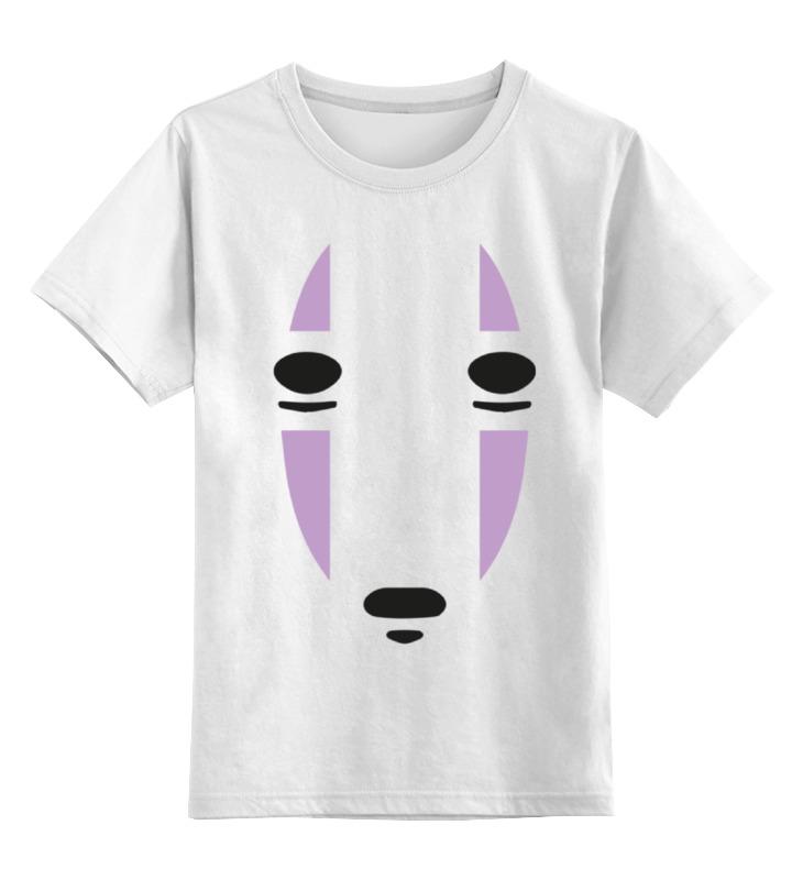 Купить 0000000750301, Детская футболка Printio Унесенные призраками цв.белый р.164,