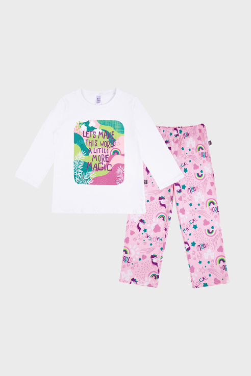 Купить 362К-171, Пижама детская Bossa Nova цв. розовый р.98,