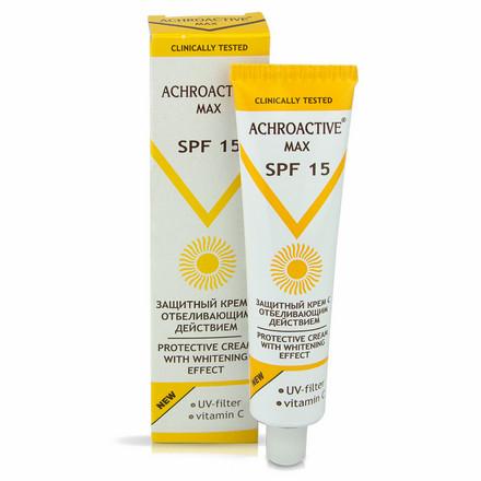 Купить Крем для лица Achroactive Max, «Защитный» SPF 15, 45 мл