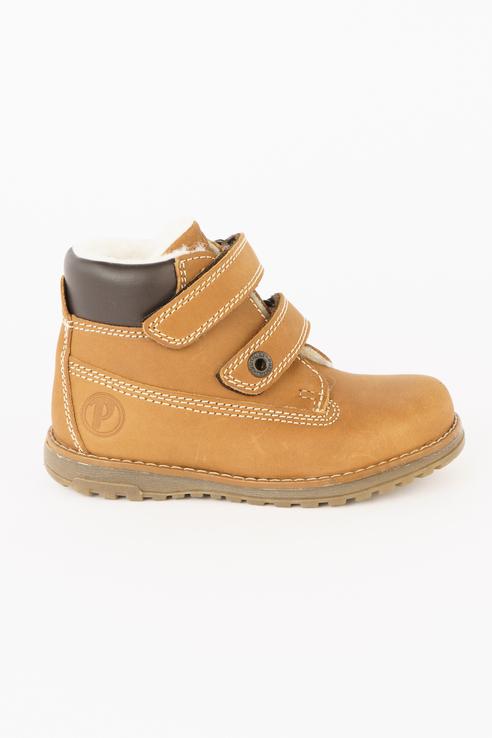 Купить 2413099, Ботинки PRIMIGI цв. коричневый р.32,