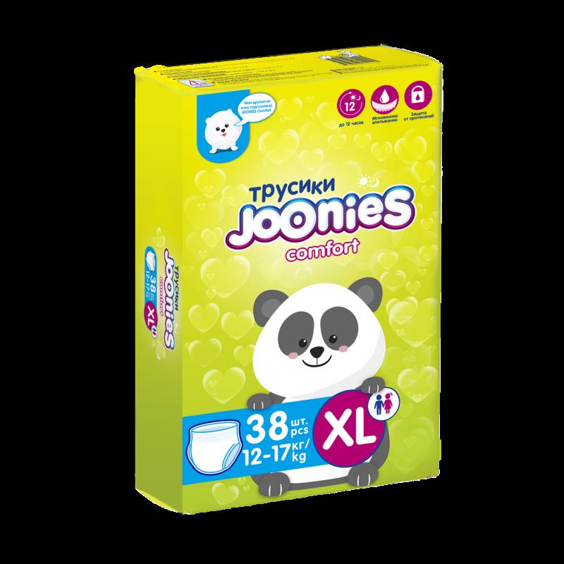 Подгузники-трусики Joonies Comfort, размер XL (12-17 кг), 38 шт.
