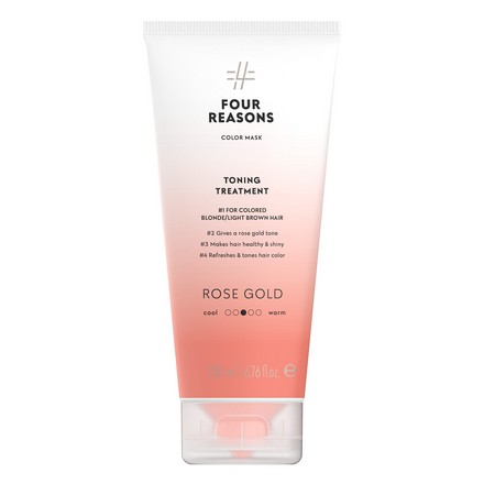 Купить Маска для волос Four Reasons, Toning Treatment Roze Gold, 200 мл