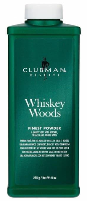 Тальк Clubman, универсальный с запахом виски Whiskey