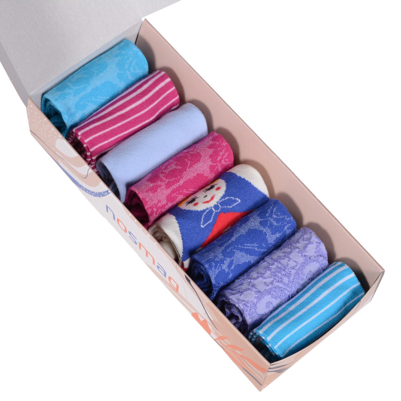 Набор носков женский VIRTUOSO Ви8ж-4 разноцветный 23-25 (36-39)