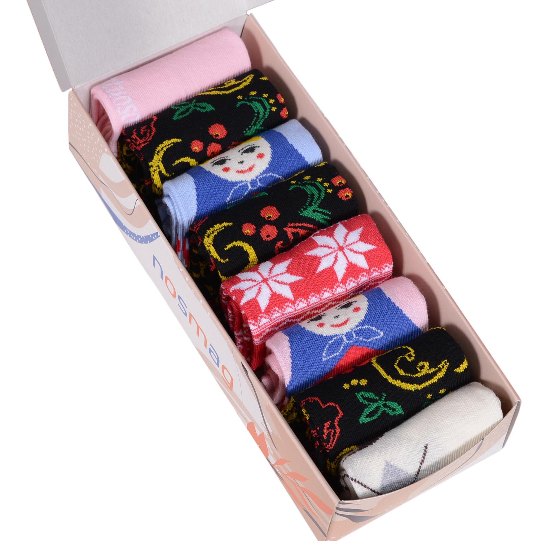 Набор носков женский VIRTUOSO Ви8ж-2 разноцветный 23-25 (36-39)