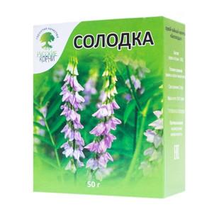 Купить Солодка (корень) Русские корни 50 г