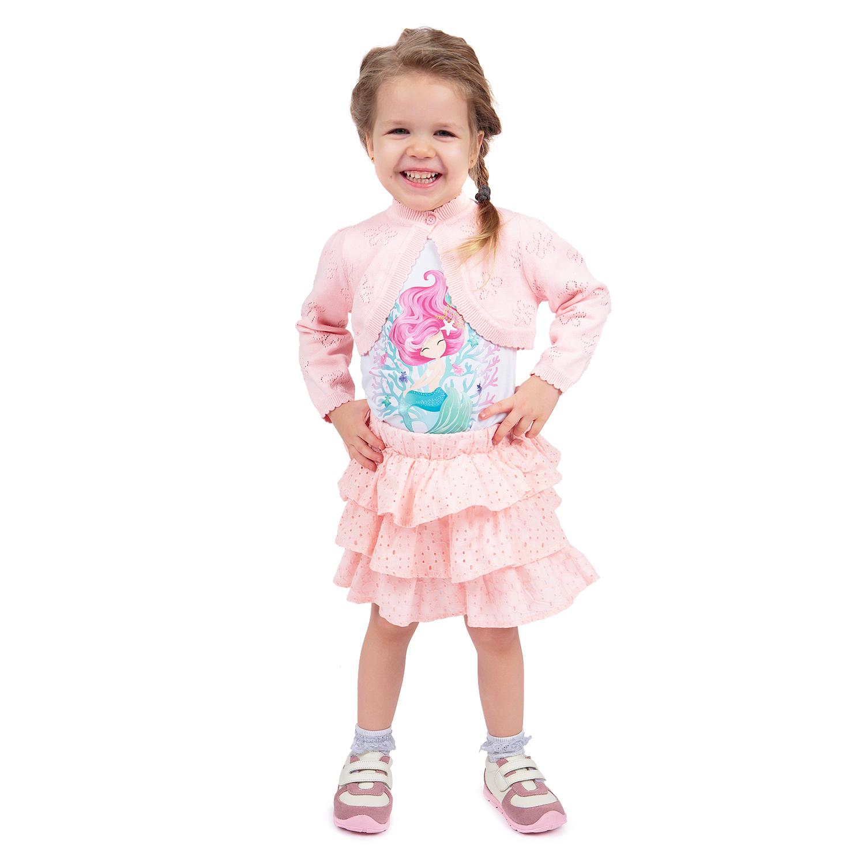 Болеро детское Fresh Style SS19SM01S/l.pink розовый р.74