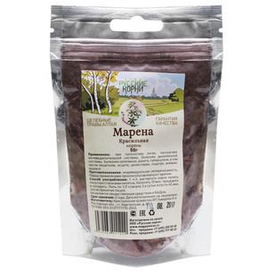 Купить Марена красильная (корни) Zip пакет Русские корни 50 г