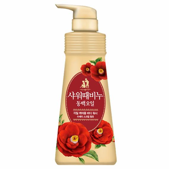 Купить Жидкое мыло для тела «Mukunghwa» («Премиум ароматерапия - Камелия») 500 мл