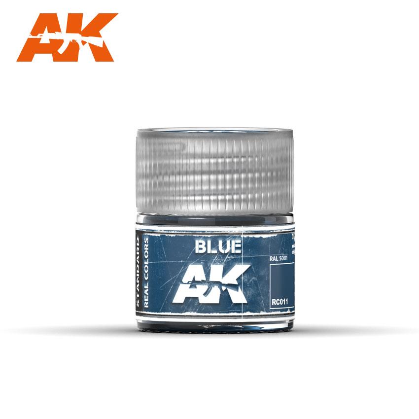 Купить Краска акриловая AK Interactive Blue синий, 10 мл,