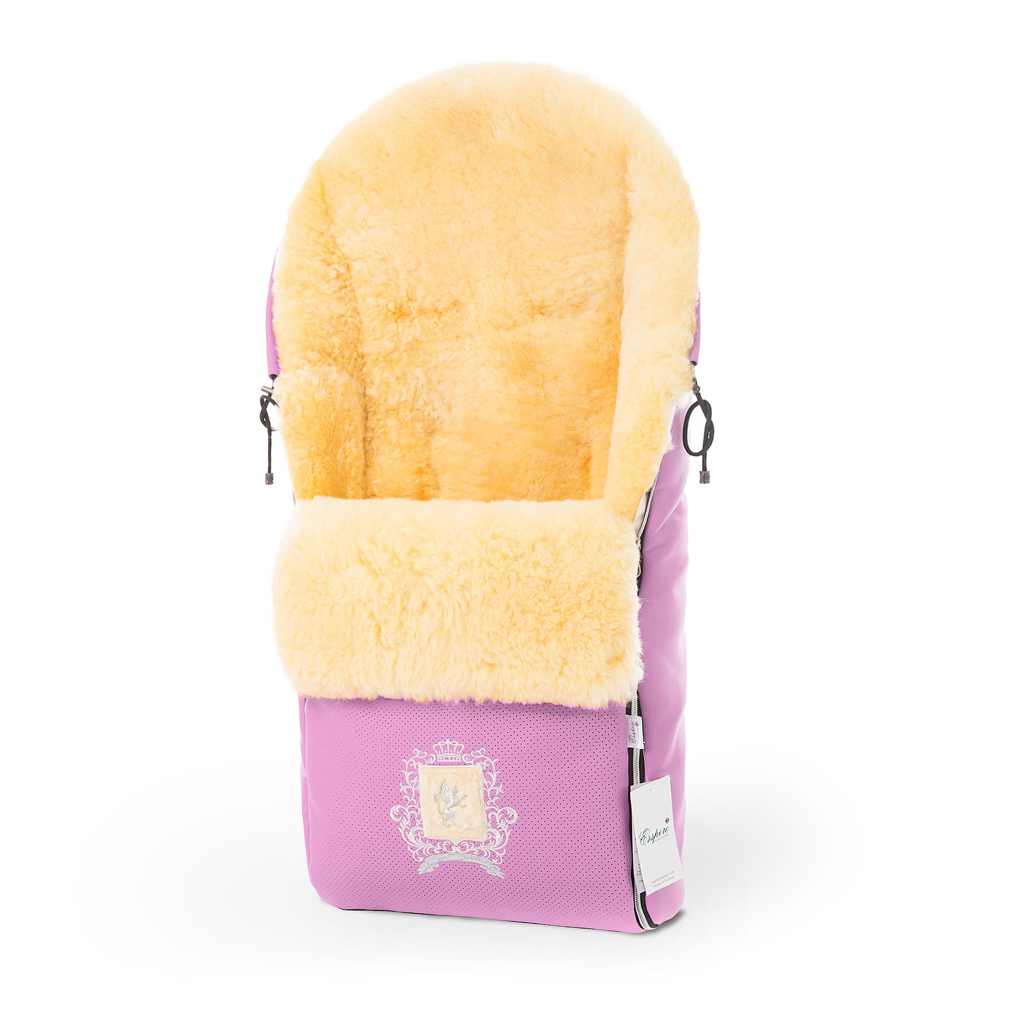 Купить Конверт в коляску Esspero Queenly ST Pink,