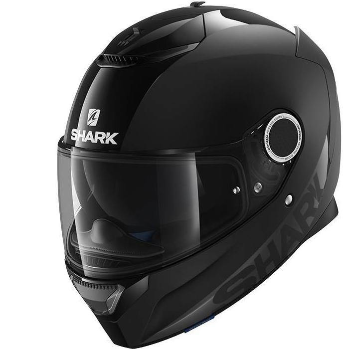 Шлем интеграл SHARK SPARTAN BLANK BLACK M