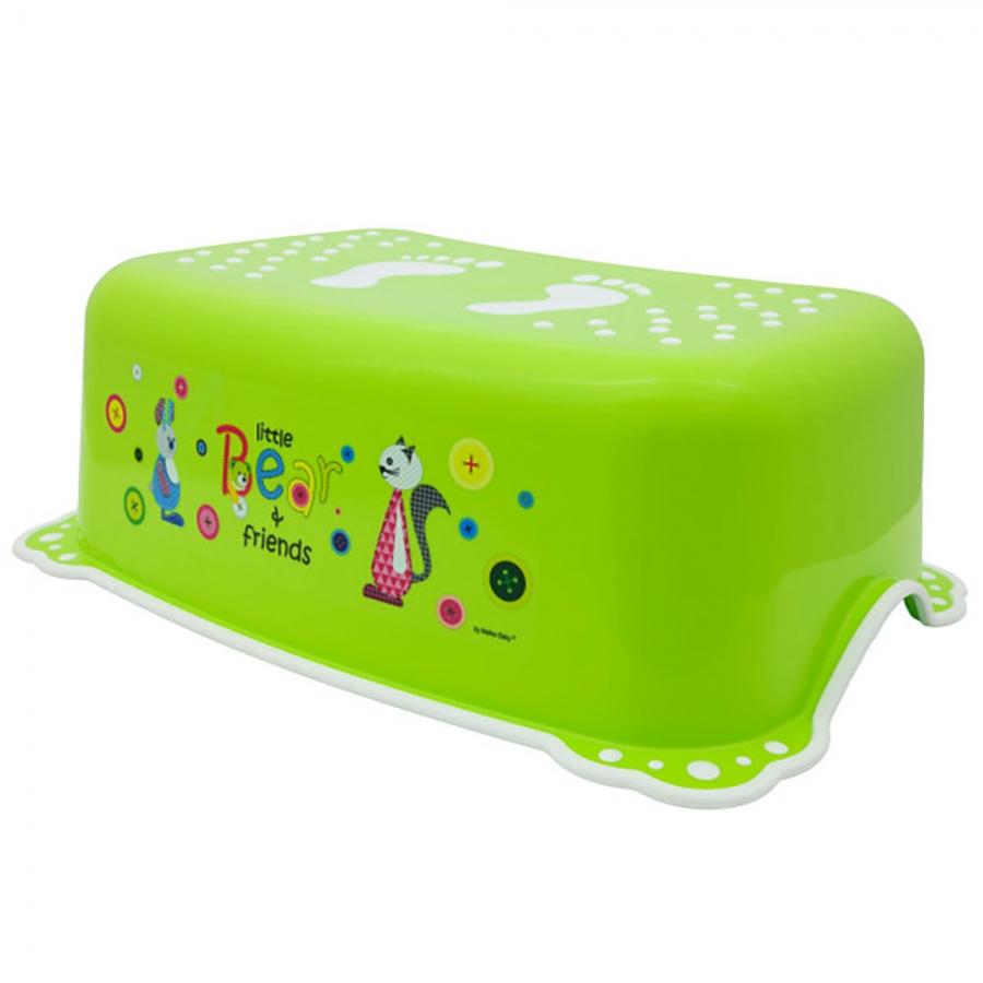 Подставка под ноги MALTEX Мишка и друзья, зеленый