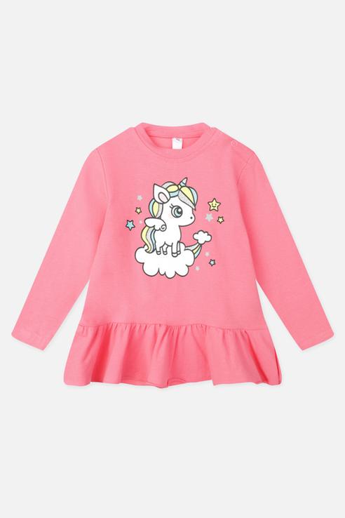 Купить 120323012_розовый, Лонгслив PlayToday 120323012 р.80, Play Today,
