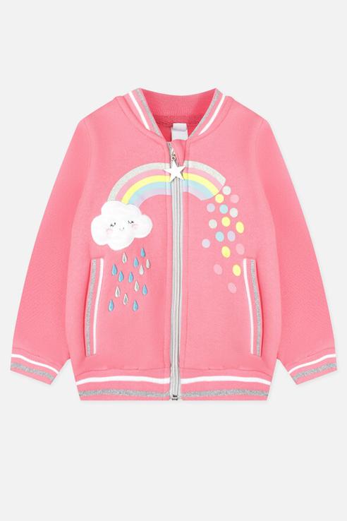 Купить 120323005_розовый, Толстовка PlayToday 120323005 р.74, Play Today,