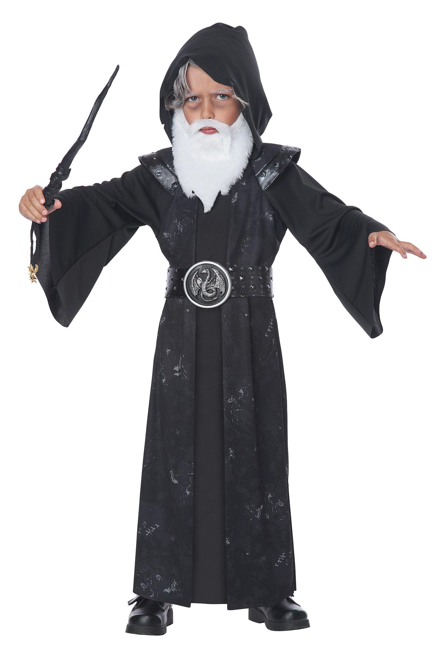 K00186, Костюм California Costumes Могущественный Колдун Детский M (3-4 года),  - купить со скидкой