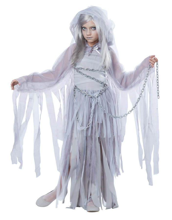 Купить K00394, Костюм California Costumes Призрак Детский M (8-10 лет),