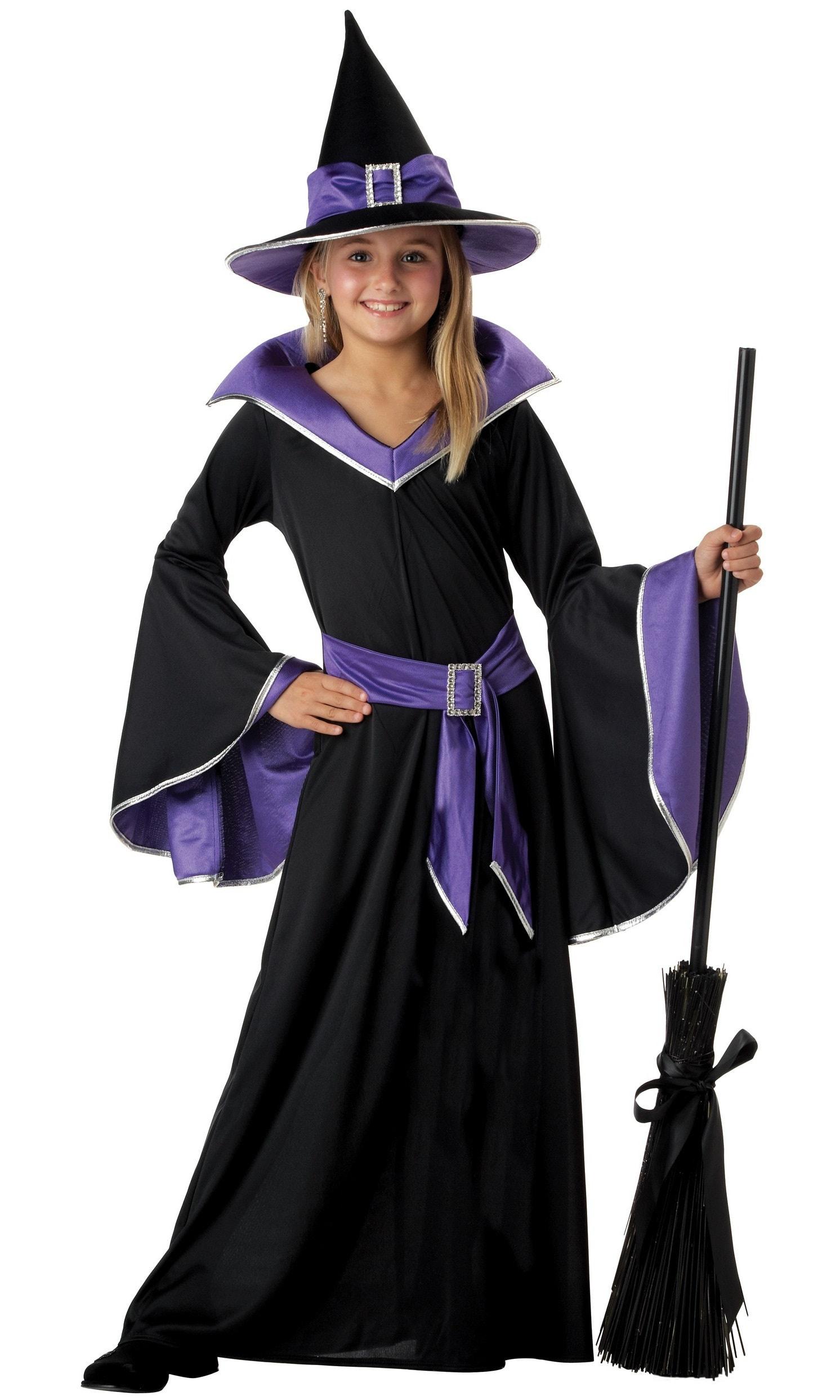Купить K00275, Костюм California Costumes Гламурная Ведьма Детский XL (12-14 лет),