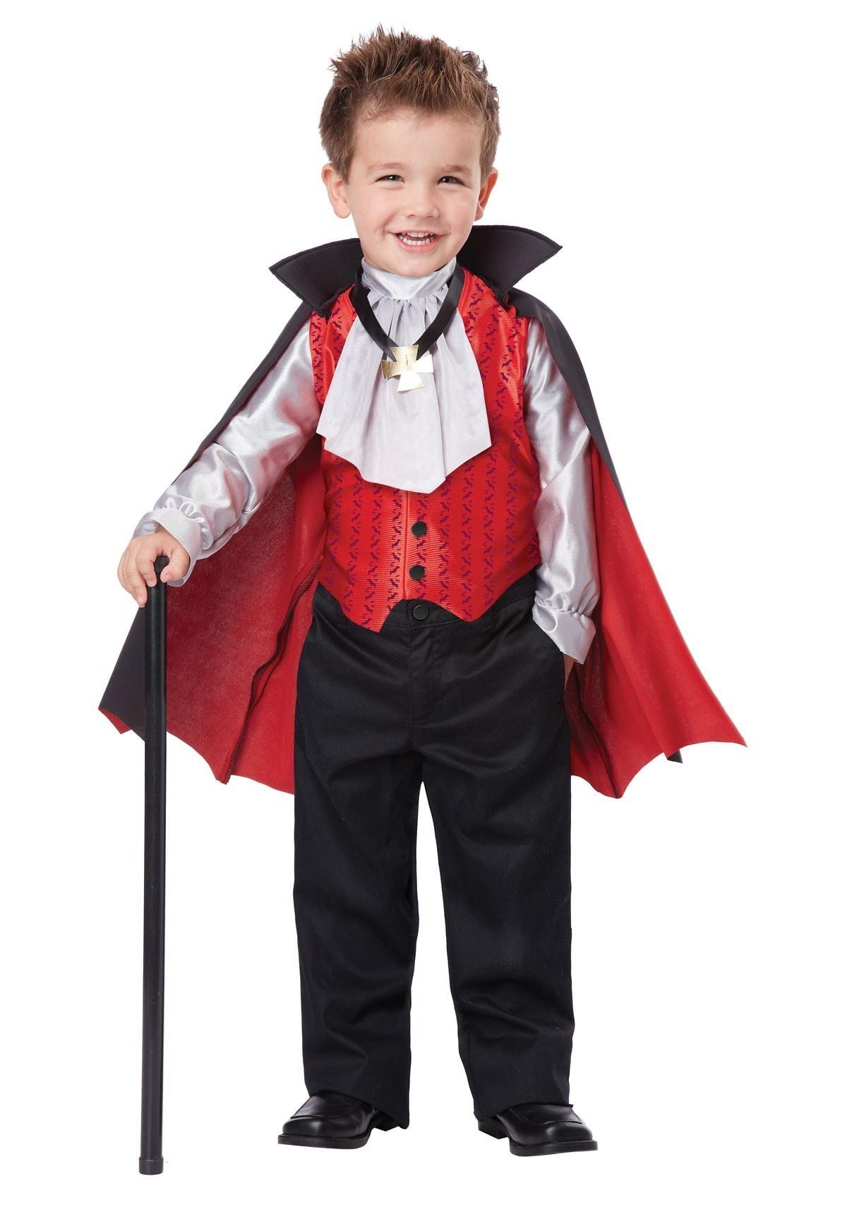Купить K00162, Костюм California Costumes Элегантный Вампир Детский M (3-4 года),