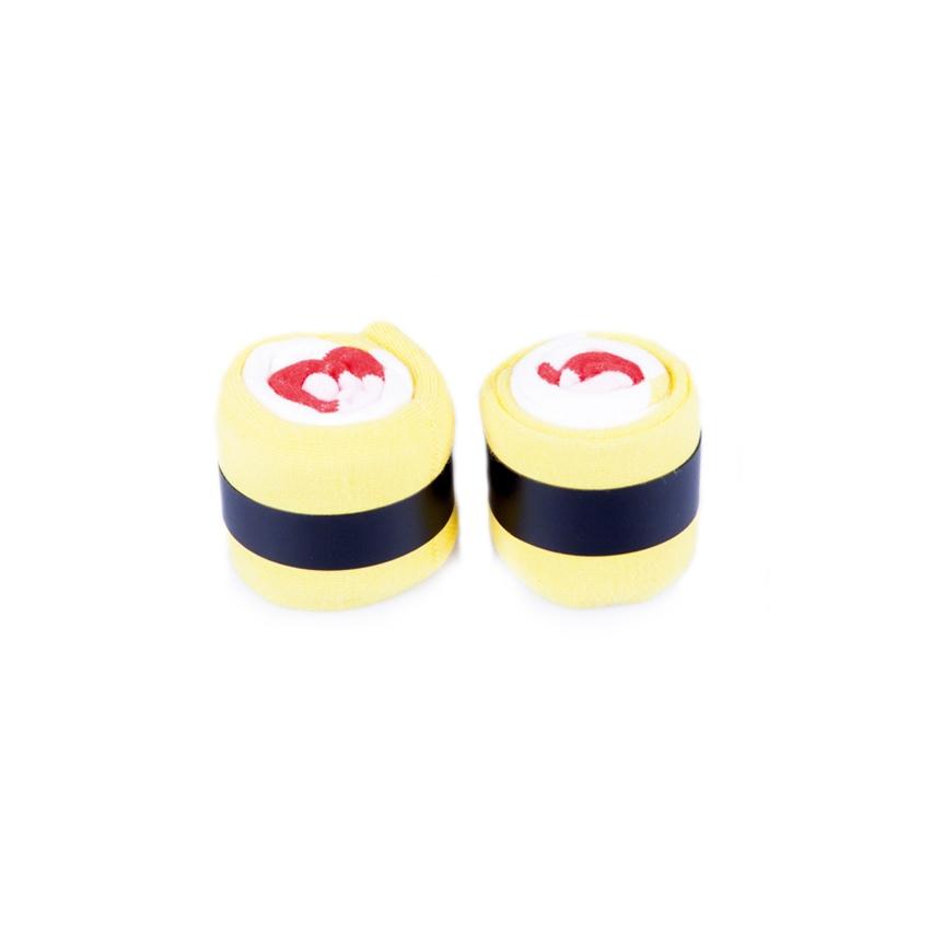 Носки унисекс Doiy DOIY_Omelette_Roll разноцветные one size