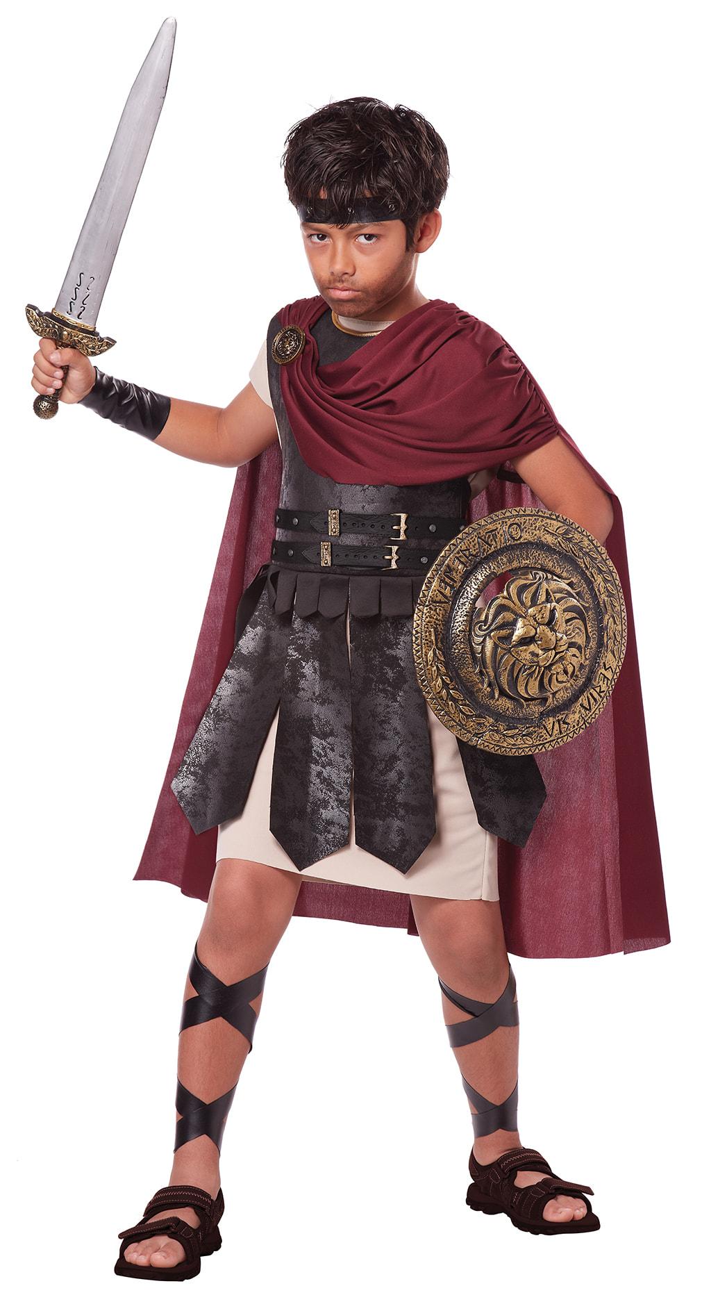Купить K00449, Костюм California Costumes Спартанский Воин Детский XL (12-14 лет),