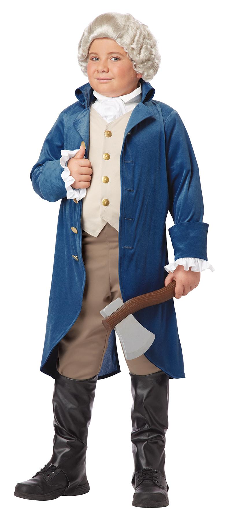 Купить K00429, Костюм California Costumes Джордж Вашингтон Детский XL (12-14 лет),