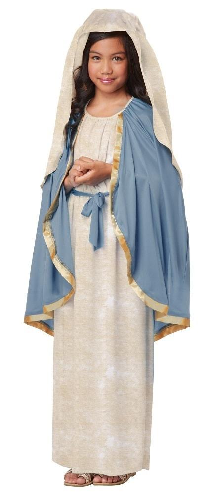 Купить K00438, Костюм California Costumes Дева Мария Детский M (8-10 лет),