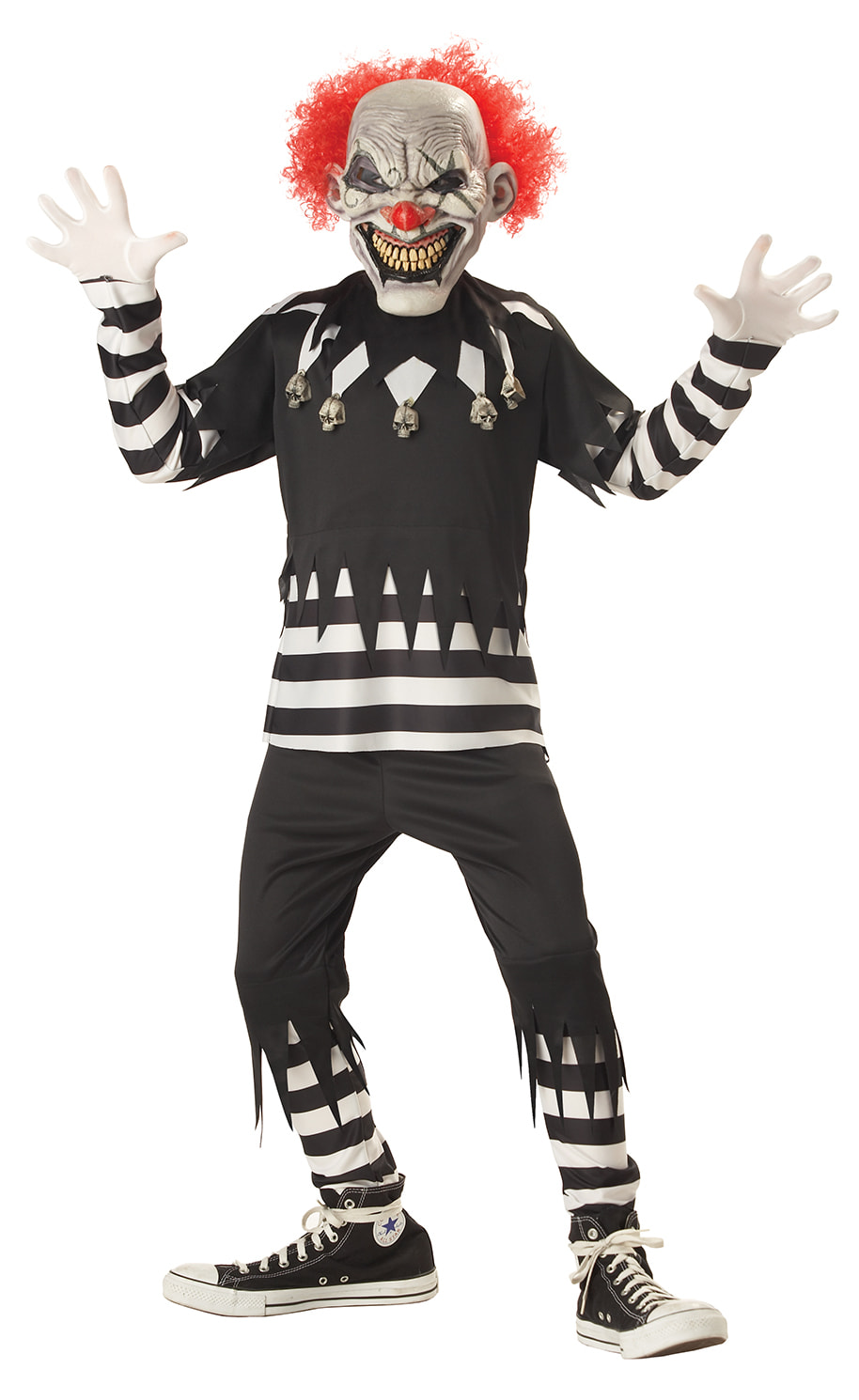 Купить K00299, Костюм California Costumes Адский Шутник Детский XL (12-14 лет),