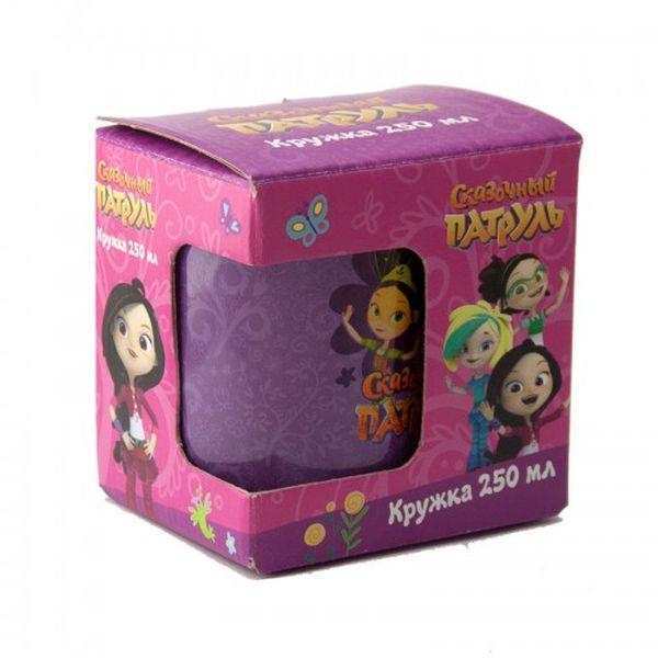 Купить Кружка стеклянная ND Play Сказочный Патруль Цветочки, в подарочной упаковке, 250 мл,