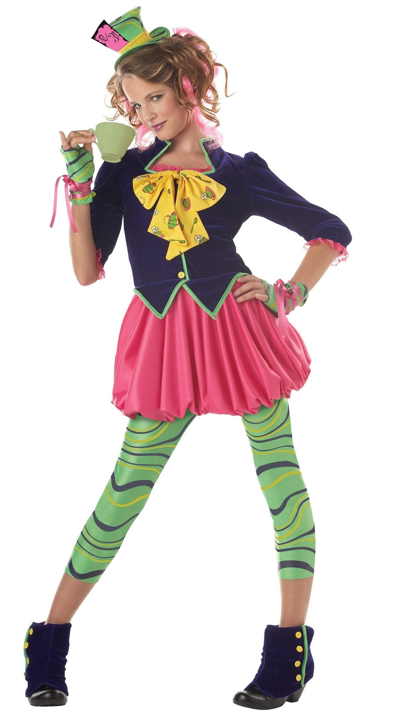 Купить K04016, Костюм California Costumes Веселый Шляпник Детский XL (12-14 лет),