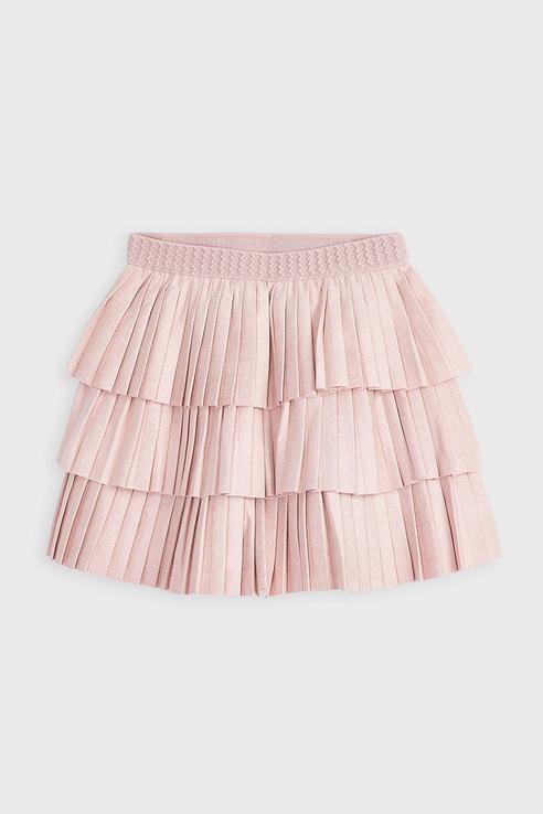 Пышная юбка-плиссе Mayoral 4958 цв.розовый р.122 4958/_розовый