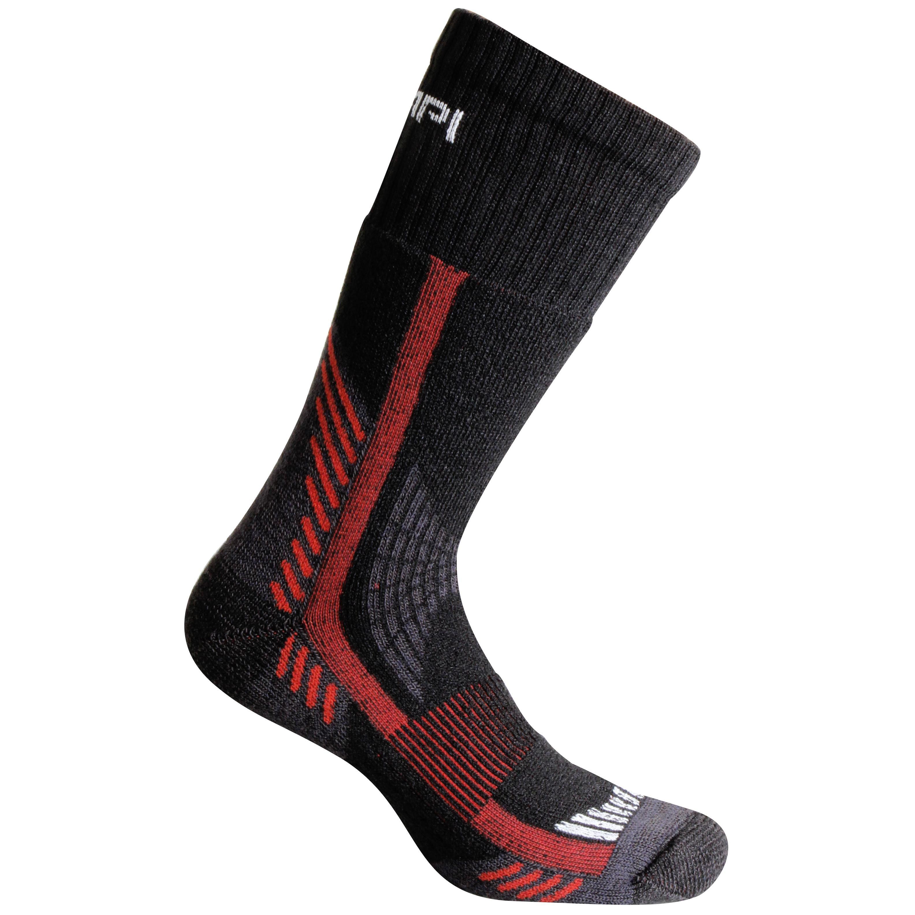 Носки Accapi Trekking Thermic, black/red, 45-47 EU