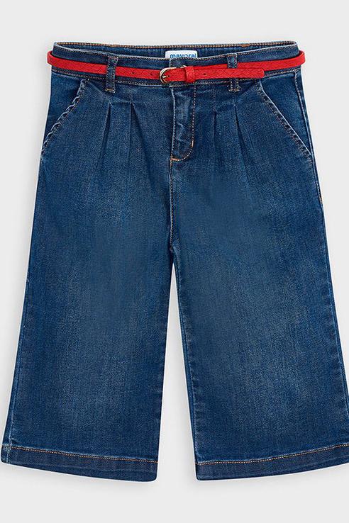 Джинсы с ремешком Mayoral 4548 цв.голубой р.116