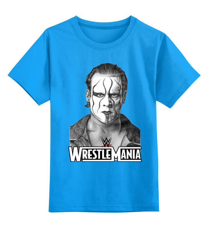 Купить 0000000757545, Детская футболка классическая унисекс Printio Wrestlemania,
