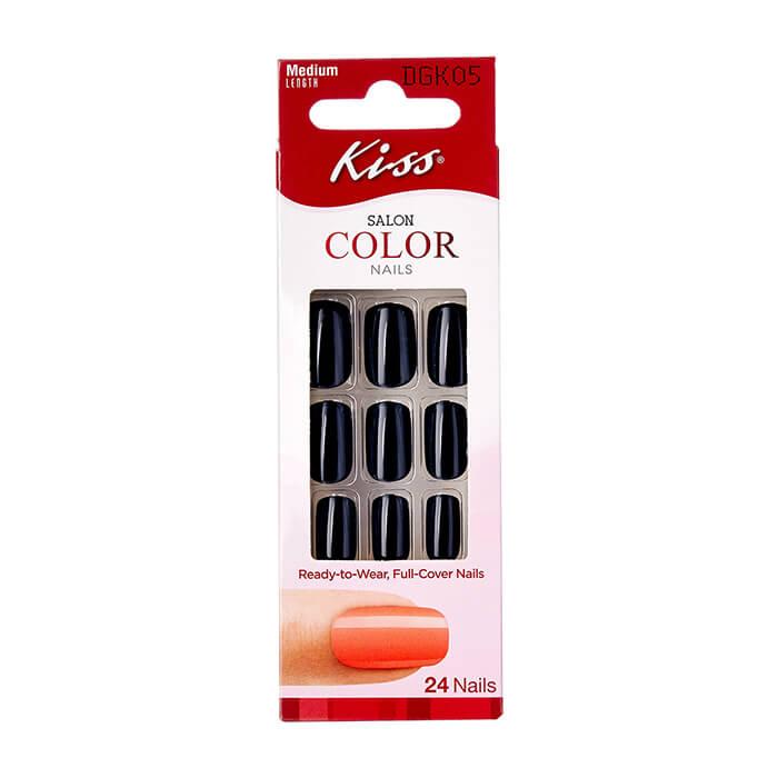 Накладные ногти Kiss, горький шоколад
