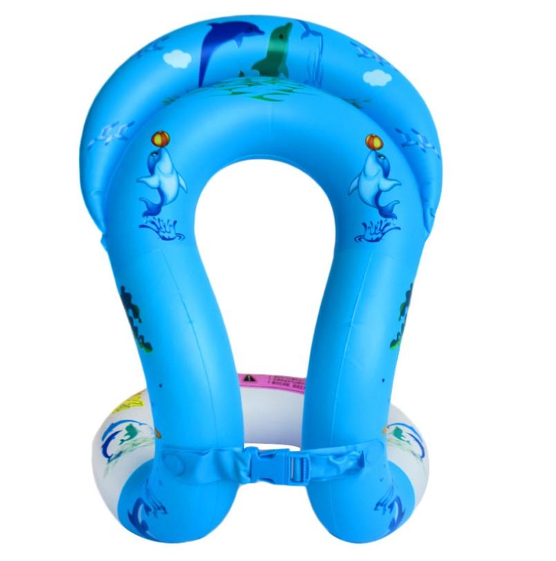 Детский надувной жилет Baziator Дельфинчики для плавания