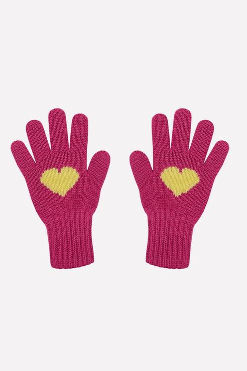 Купить К 149/ш/малина, Перчатки детские CROCKID цв. розовый р.14,