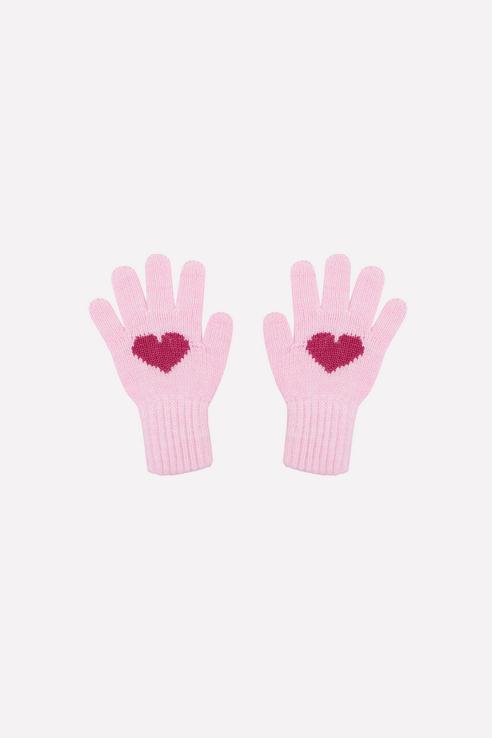 К 149/ш/светлая астра, Перчатки детские CROCKID цв. розовый р.14,  - купить со скидкой