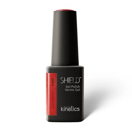 Купить Гель-лак для ногтей Kinetics Shield №489 Iron Red 15 мл