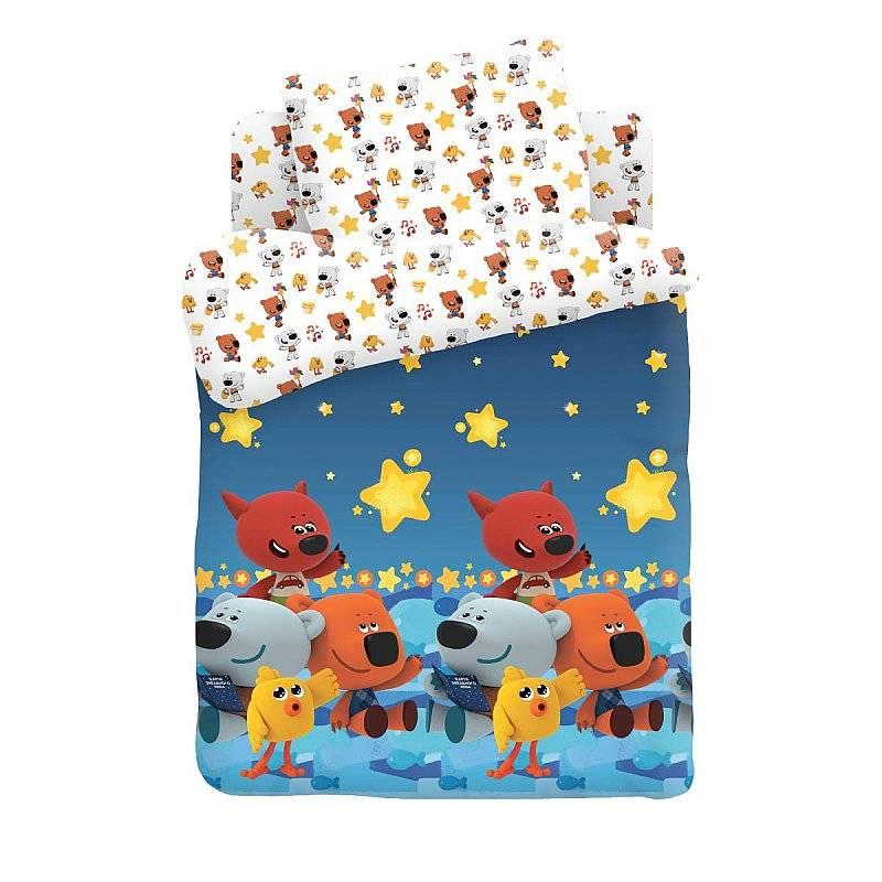 Комплект постельного белья детский Непоседа Ми-ми-мишки Ночное небо