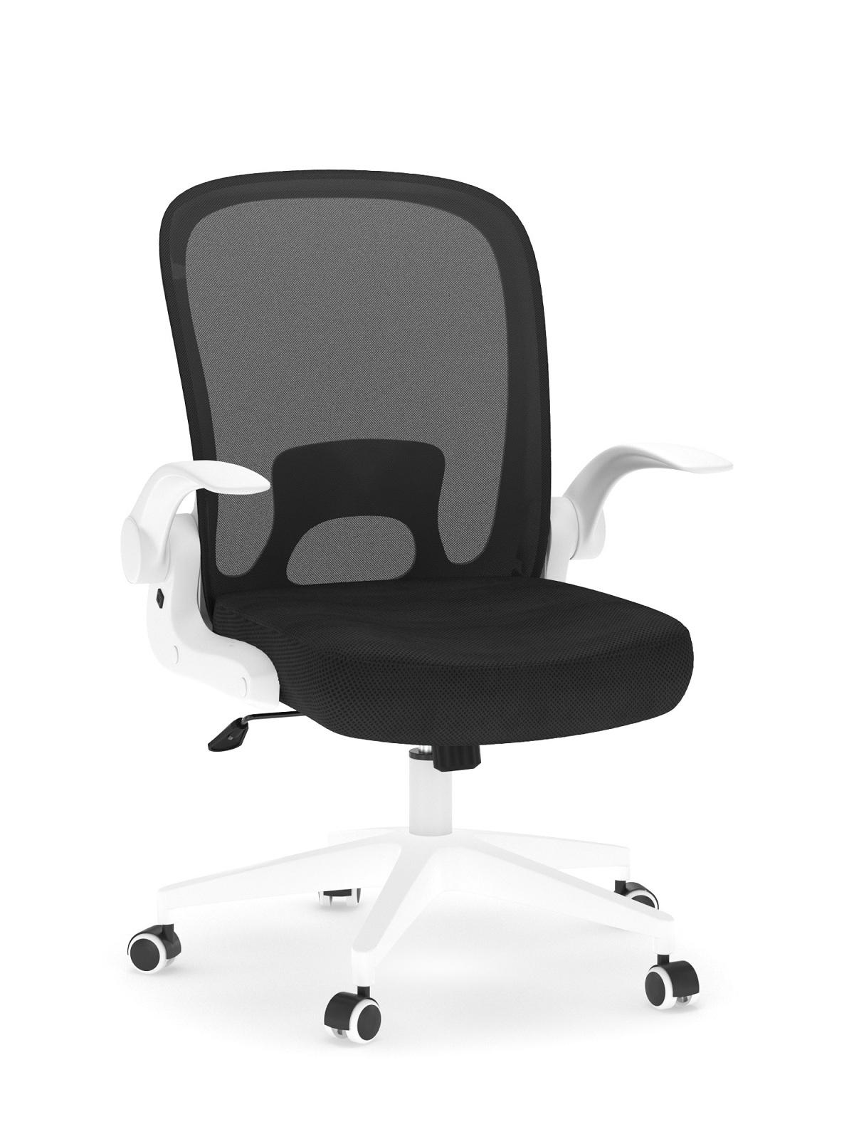 Офисное кресло Loftyhome Template black/white VC6007 BW
