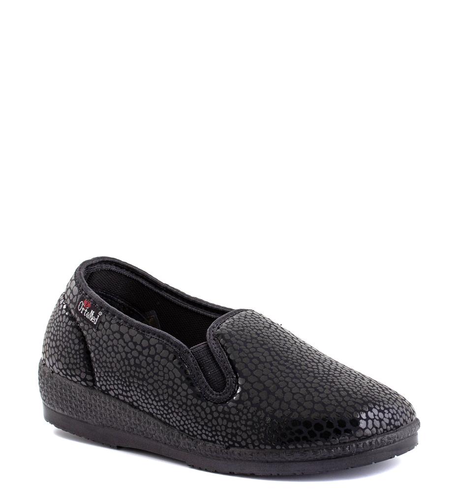 Ортопедические туфли ORTOMED 6069 S28 Q99, черные