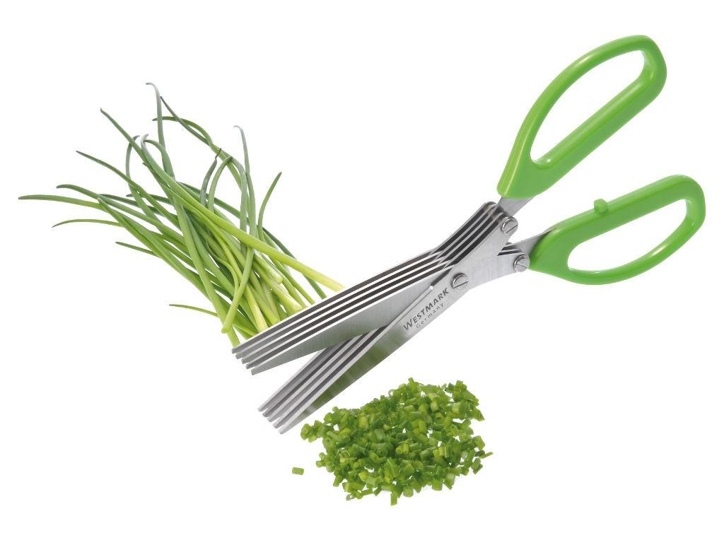 Ножницы для нарезки зелени (5 лезвий) (Цвет: