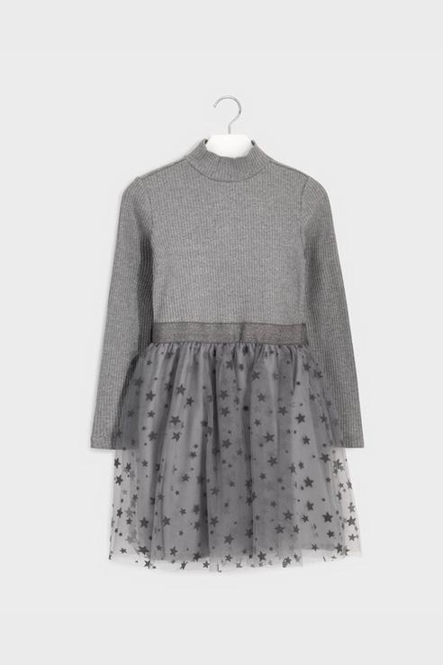 Платье Mayoral 7960 цв.серый р.140 7960/_серый