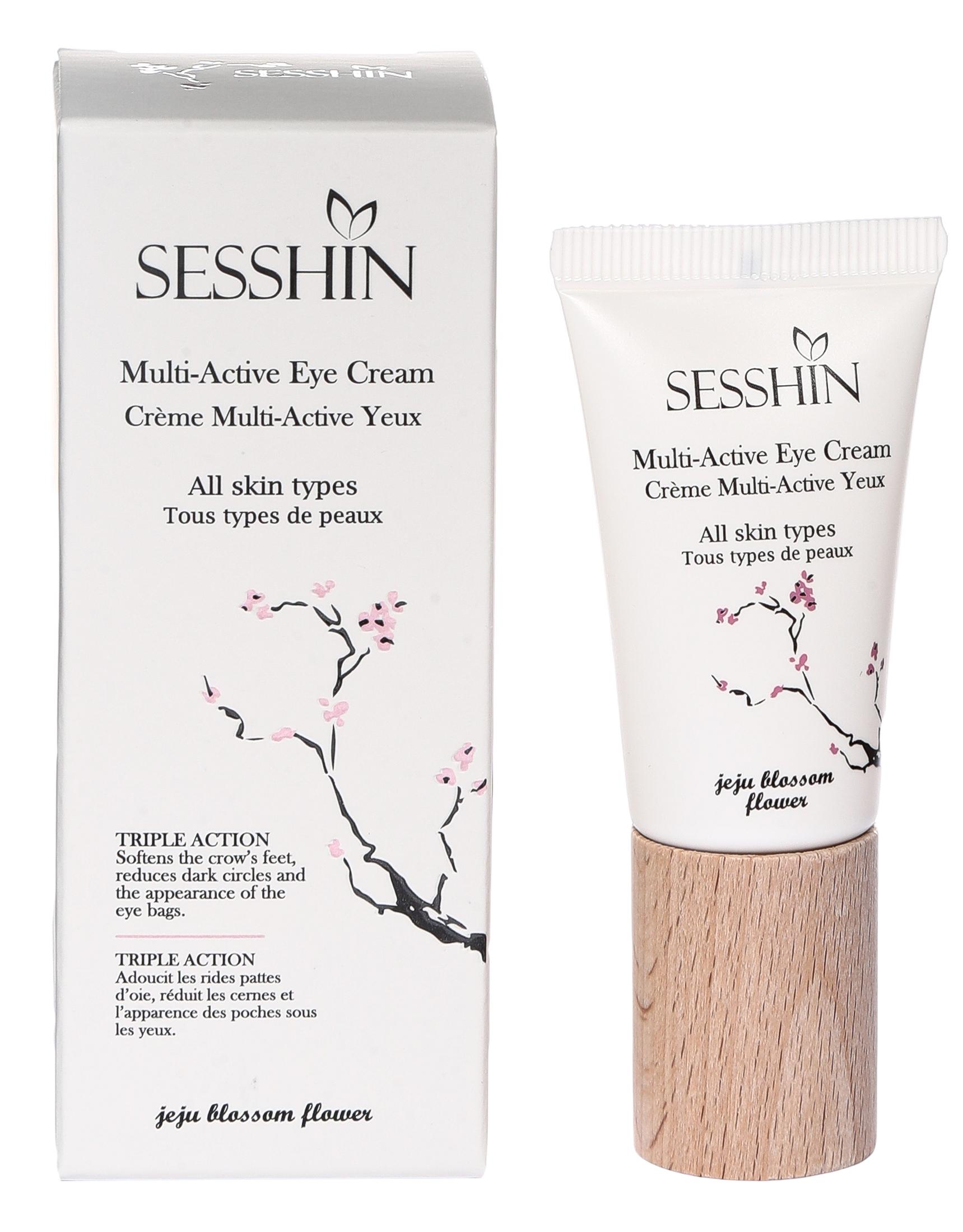 Купить Мультиактивный крем SESSHIN Multi Active Eye Cream для области вокруг глаз, 15 мл