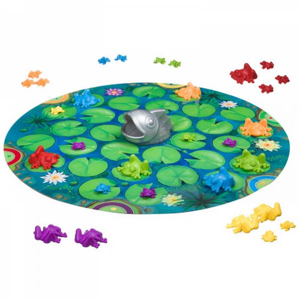 Логическая игра Bondibon Умные лягушки