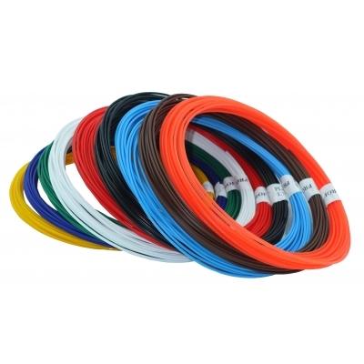 Купить Набор пластика TMPROF3D PLA для 3D ручек, 9 цветов по 10 м,