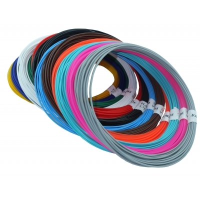 Купить Набор пластика TMPROF3D PLA для 3D ручек, 12 цветов по 10 м,