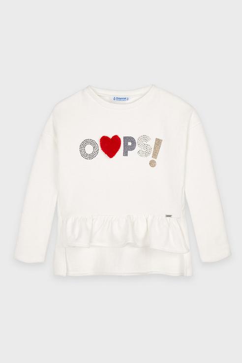 Пуловер Mayoral 4403 цв.белый р.128