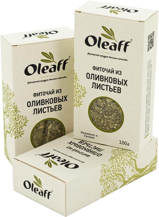 Фиточай Oleaff из оливковых листьев 100 г